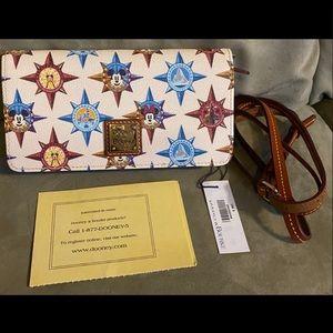 Passport Disneyland Crossbody Dooney & Bourke bag